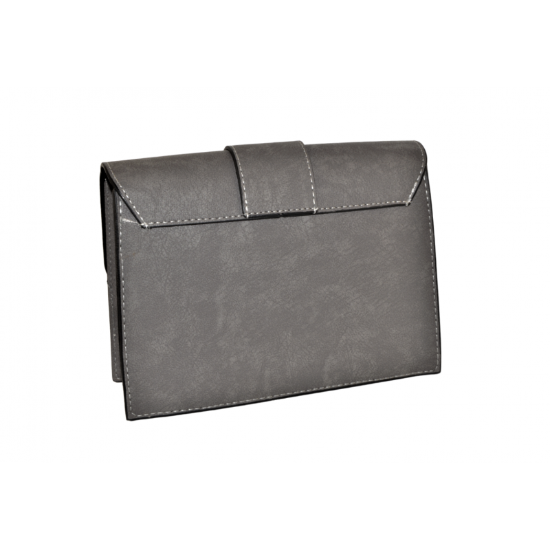 Дамска чанта в сиво 008