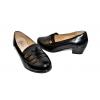 Дамски обувки на ток в черно 503