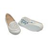 Дамски обувки на платформа в бяло YSPF-W