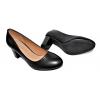 Дамски обувки на ток в черно 3065