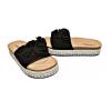 Дамски чехли в черно LS18-8-BK
