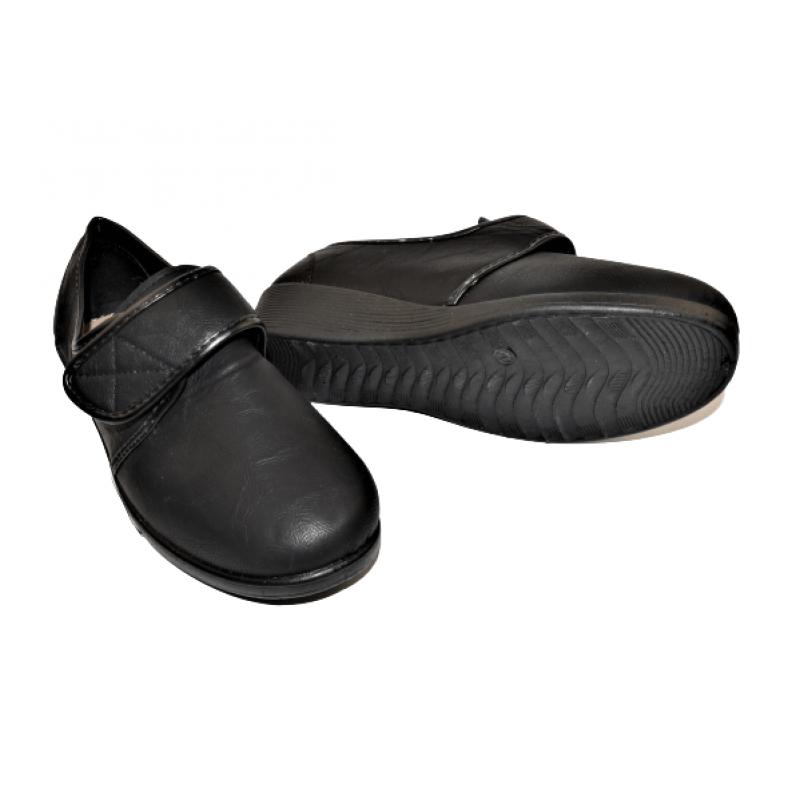 Дамски ортопедични обувки в черно 1601-07D