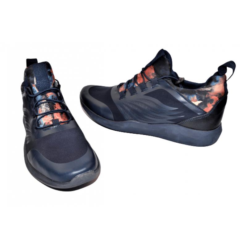 Мъжки маратонки в тъмно синьо 509010
