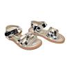 Детски сандалки в сребристо 823-9