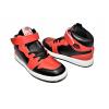 Детски кецове в червено и черно 0035-3