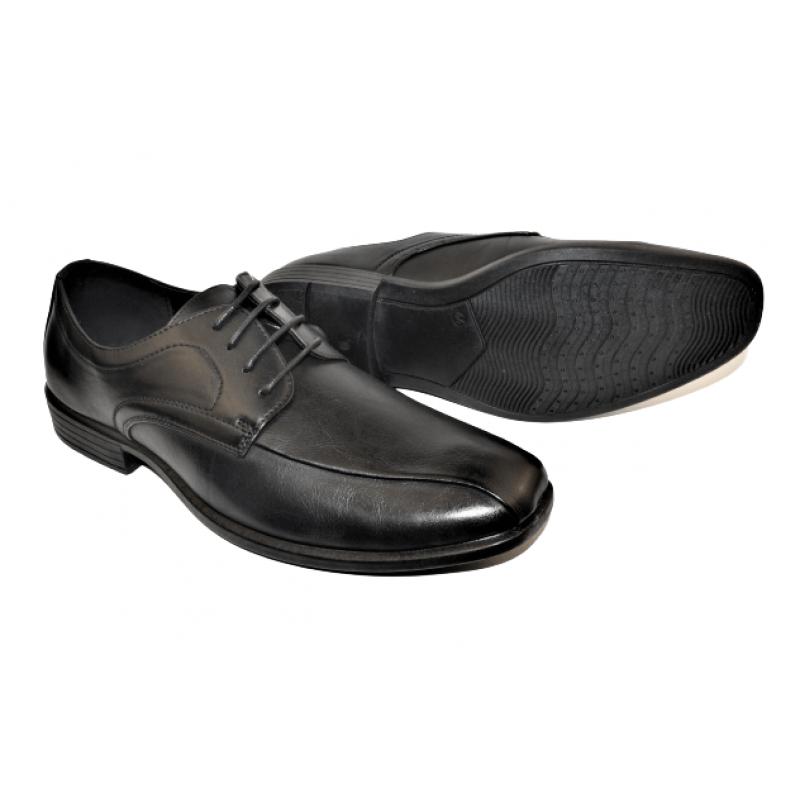 Мъжки елегантни обувки в черно 022029