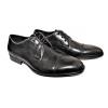 Мъжки елегантни обувки в черно 15-5178
