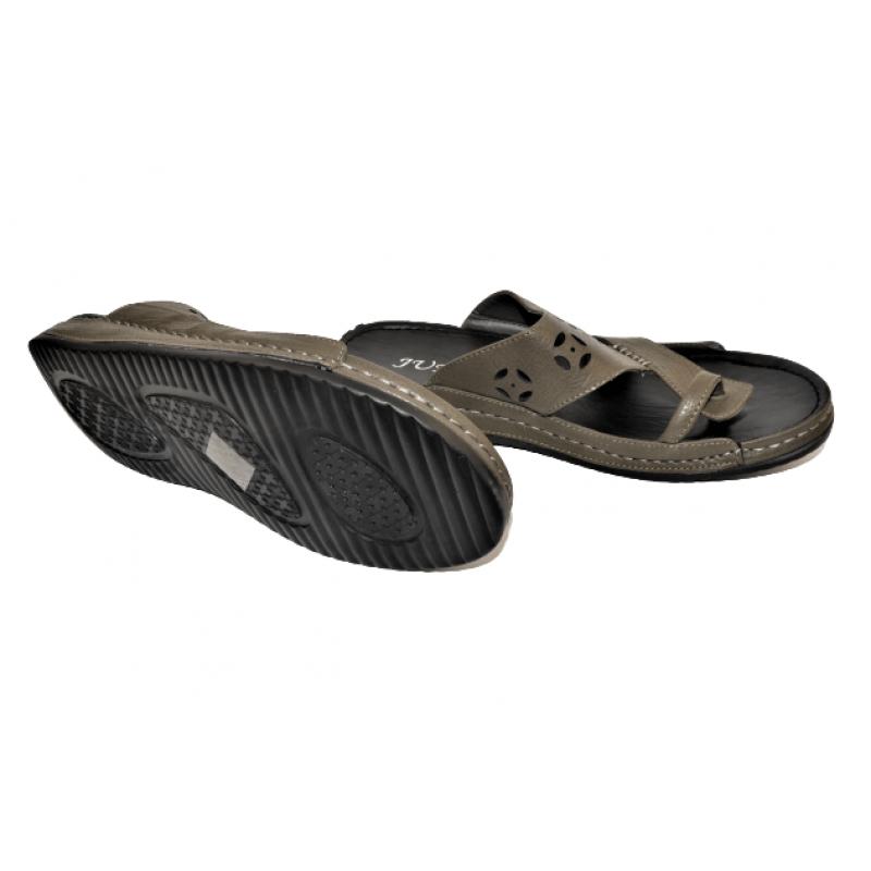 Мъжки чехли в сиво A242-7F