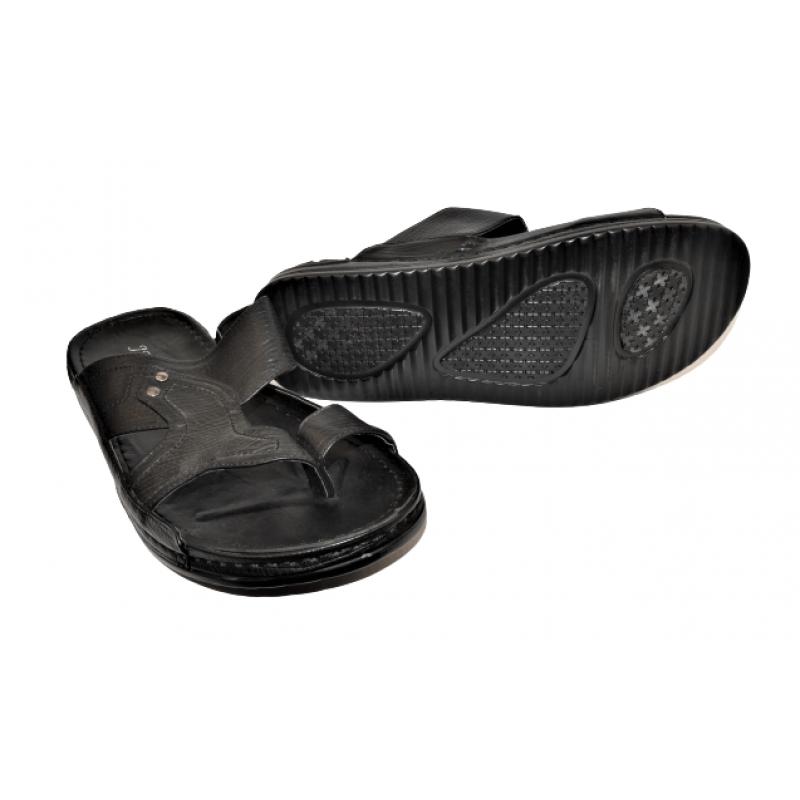 Мъжки чехли в черно A242-8F