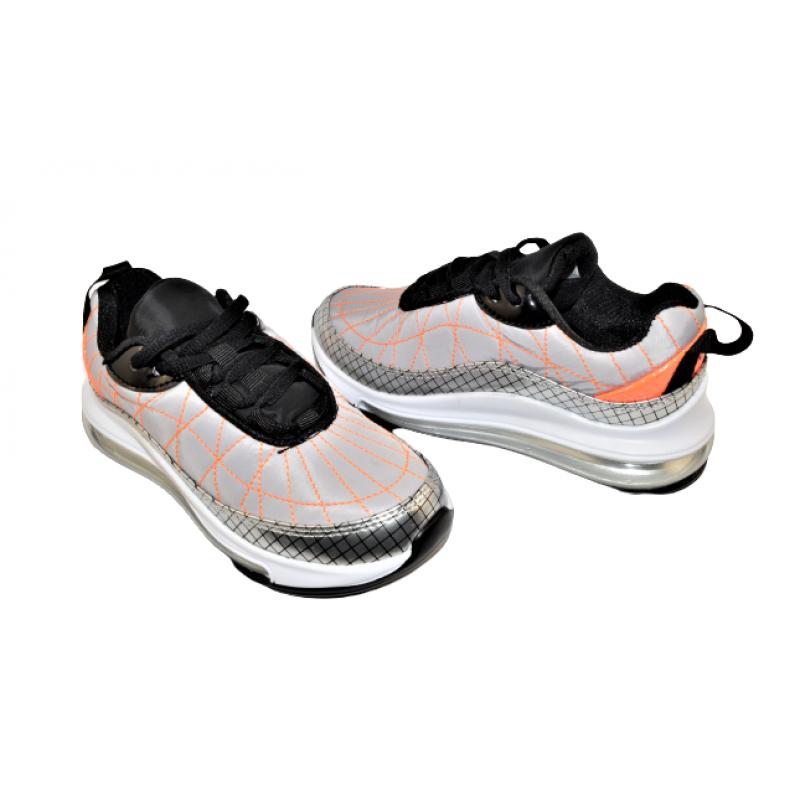 Детски маратонки в сиво К6
