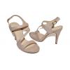 Дамски елегантни сандали на ток в бежово A776-2