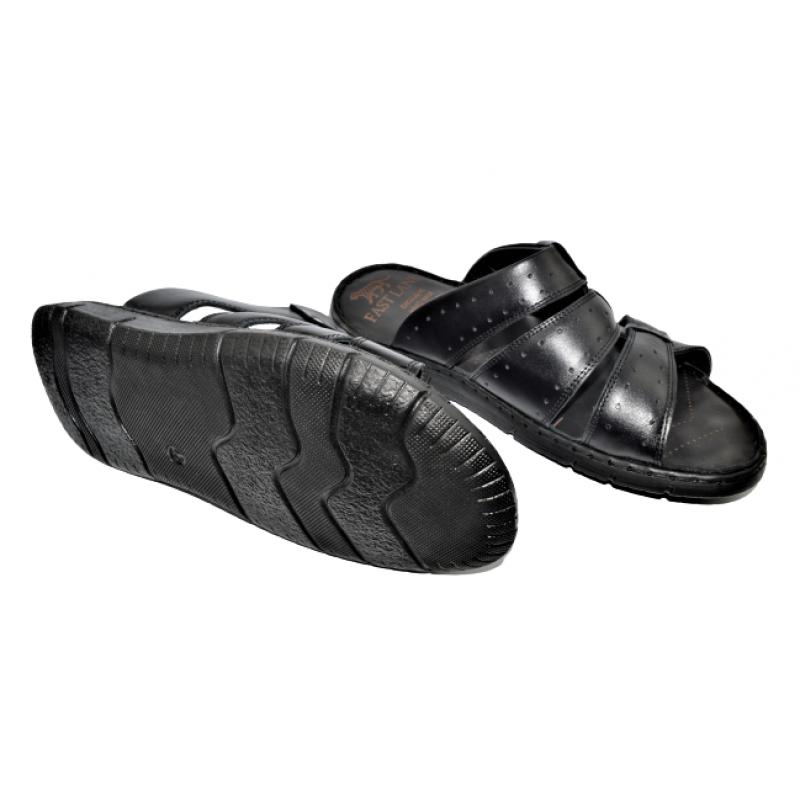 Мъжки чехли в черно 31