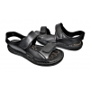 Мъжки сандали в черно 39