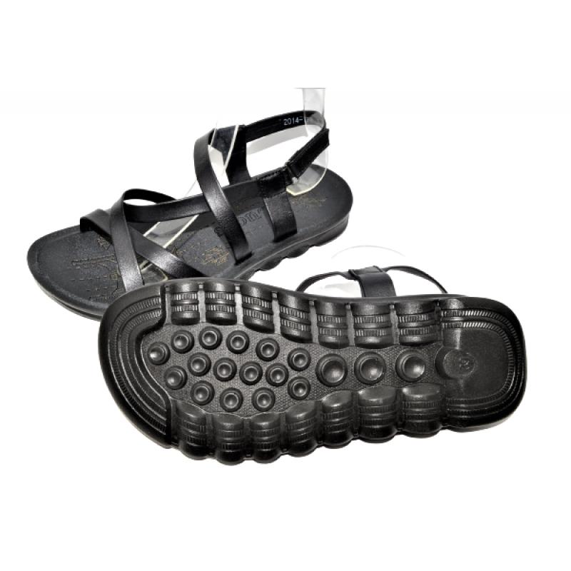 Юношески сандали в черно 363