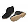 Дамски велурени обувки в черно 162