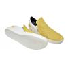 Дамски обувки в жълто с бяло 264