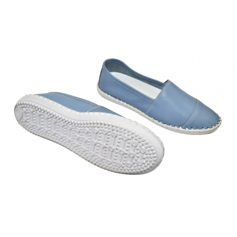 Дамски обувки без връзки в синьо 275