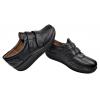 Дамски обувки на платформа стил уокмакс в черно 427