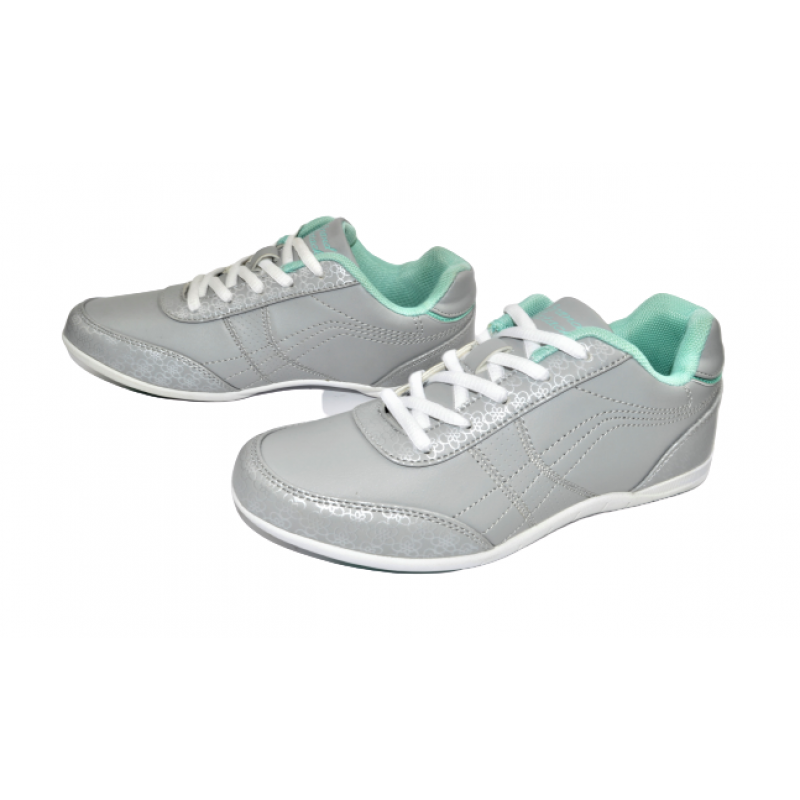Дамски маратонки в сиво 298