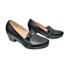 Дамски обувки на ток в черно G05
