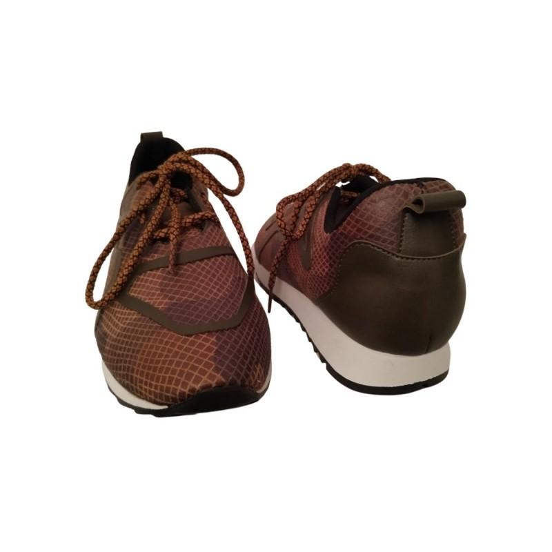 Дамски маратонки с камуфлажен принт 640